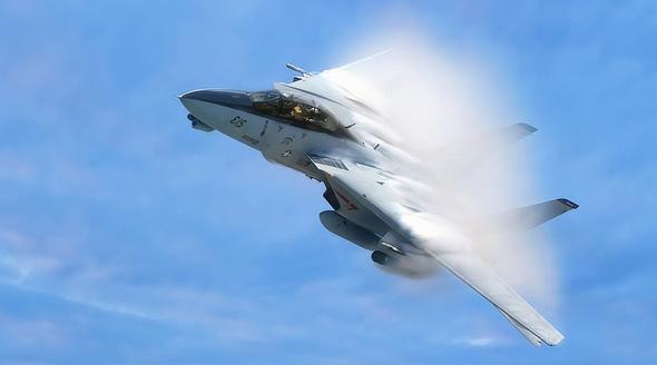 הטומקט באוויר. אם תשאלו אותי, אחד ממטוסי הקרב הכי פוטוגניים אי פעם
