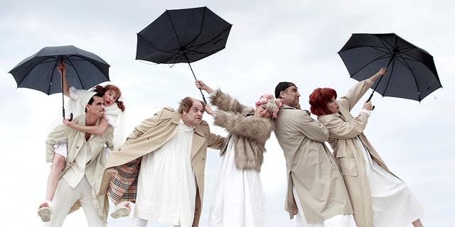 """מוות בחתונה: """"הלוויה חורפית"""" של חנוך לוין שבה"""