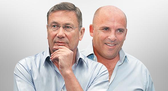 מימין איתי שטרום ו נוחי דנקנר, צילום: אוראל כהן