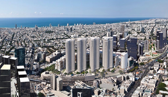 מרכז העיר מוביל את מפת ההשקעה