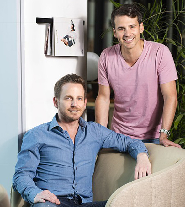 Reach CEO Yair Ravid, left, and Chief Product Officer Dan Mano, right. Photo: PR