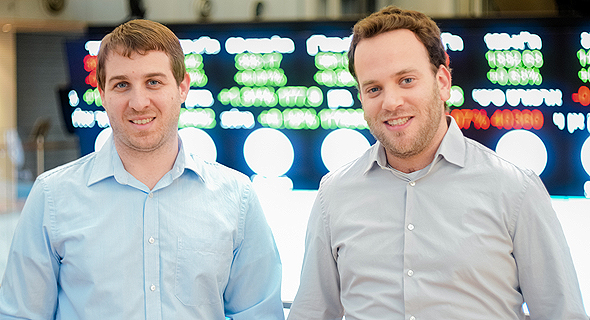 SecuredTouch co-founders Ran Shulkin (left), and Yair Finzi (right). Photo: Oleg Alon Moravitz