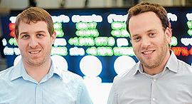 SecuredTouch co-founders Ran Shulkin (left), and Yair Finzi (right). Photo: Oleg Alon Moravitz