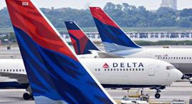 """חברת תעופה דלתא ארה""""ב דלתה , צילום: getty"""