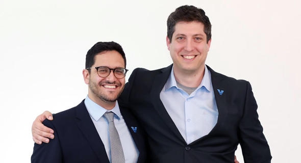 Viz.ai co-founders Chris Mansi and David Golan. Photo: Nicole Ellen