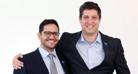 כריס מנסי ודוד גולן, צילום: ניקול אלן