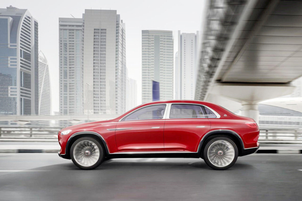 מאיבאך SUV. חייבת לגנוב מהר לקוחות סינים עשירים ממותגי יוקרה אחרים