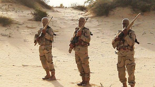 אנשי דאעש בחצי האי סיני