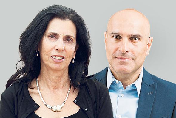 """מימין יו""""ר לשכת עורכי הדין אפי נוה ו דורית סלינגר ה ממונה על שוק ההון, צילומים: עידן מילמן , אוראל כהן"""