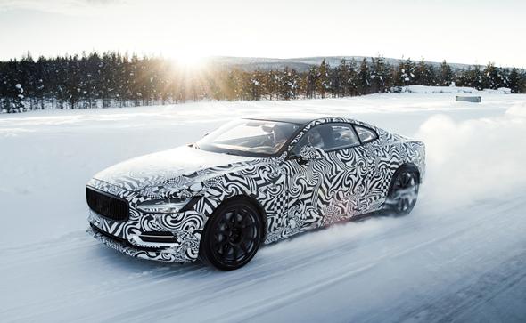 פולסטאר 1. גרסה ספורטיבית וחשמלית למכונית המנהלים השוודית