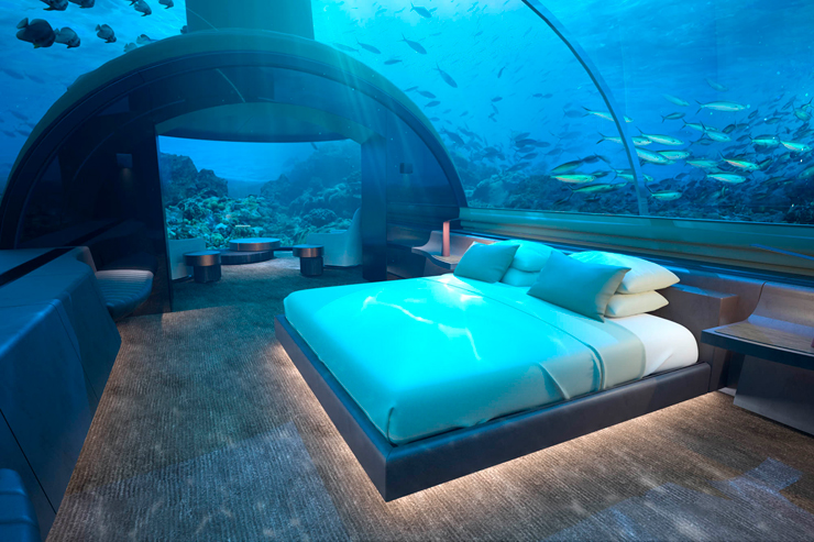 החדר מתחת למים. השקעה של 15 מיליון דולר
