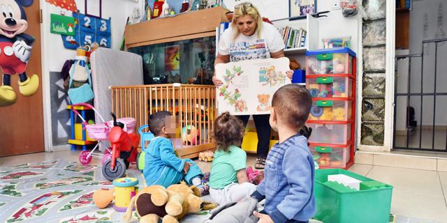 ההוצאה הציבורית בישראל על חינוך בגיל הרך - 450 דולר לילד בשנה, 5% מב-OECD