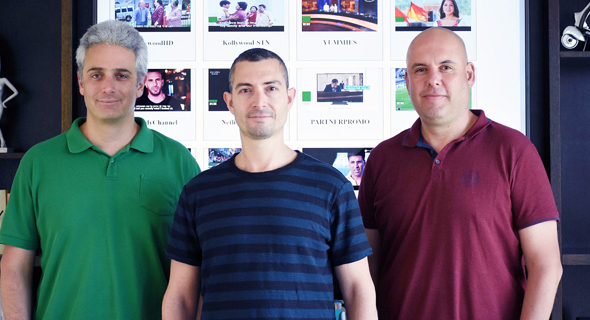 IChannel's co-founders (from left): Oren Maurice, Eran Tal and Avi Zenou. Photo: PR