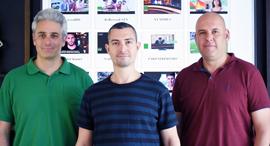 IChannel's co-founders (from left): Oren Maurice, Eran Tal and Avi Zenou. Photo: PR