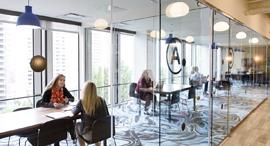 Communal workplace (illustration). Photo: Bloomberg