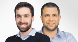 """מימין: מנכ""""ל Actiview מתנאל ליבי וסמנכ""""ל התפעול טל קולווין, צילום: אייל מרילוס"""