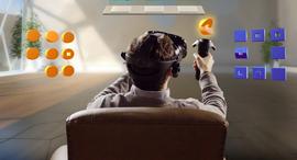 ה סימולטור של Actiview קסדת VR מציאות מדומה, צילום: אייל מרילוס