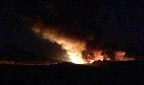 תקיפה בשדה תעופה בדמשק (ארכיון)
