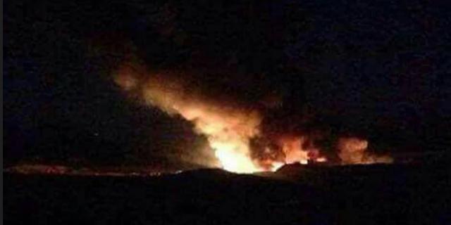 דיווח: ישראל תקפה שדה תעופה צבאי בדמשק