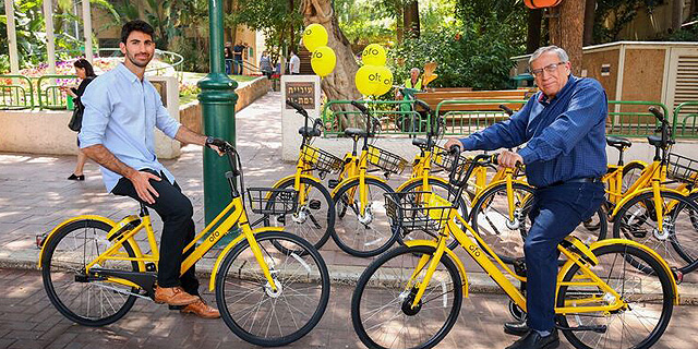Ofo Bikes Used Over 1,000 Times a Day in This Israeli Town