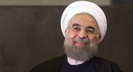 נשיא איראן חסן רוחאני, צילום: בלומברג