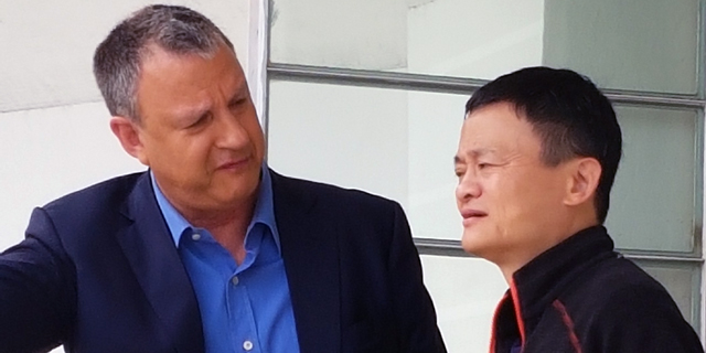 Alibaba's Jack Ma Meets With Benjamin Netanyahu in Jerusalem