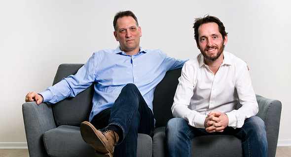 NAmogoo co-founders Ohad Grinshpan and Chemi Katz. Photo: Efrat Saar