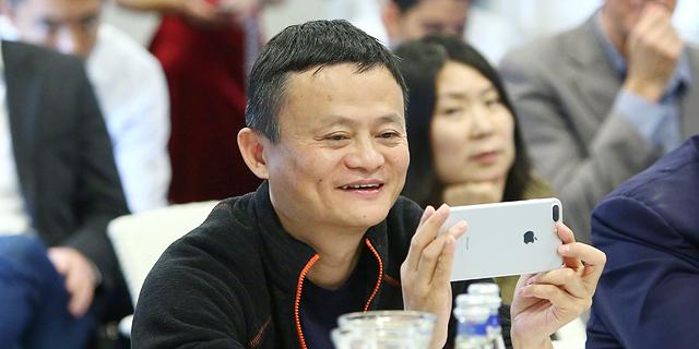 Alibaba founder and CEO Jack Ma meeting Israeli entrepreneurs. Photo: Dror Sithakol