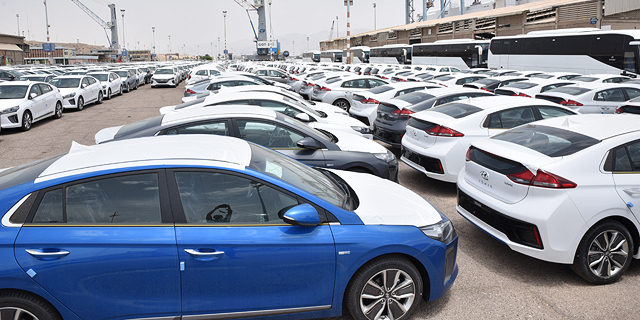 246 אלף מכוניות נמסרו בינואר-אוקטובר, ירידה של 4.5%