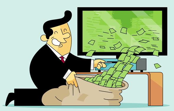 יש כסף בטלוויזיה