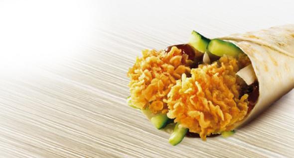 מנת דרגון טוויסטר של KFC, צילום: KFC