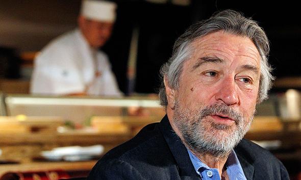 Robert De Niro at one of Nobu's restaurants. Photo: Getty Images