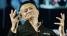Alibaba Founder and Chairman Jack Ma. Photo: Amit Sha'al