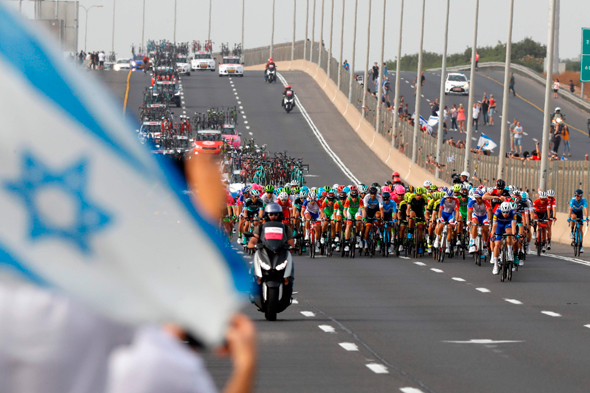 The second day of the Giro d'Italia. Photo: AFP