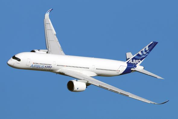 איירבוס A350 מטוס נוסעים, צילום: שאטרסטוק