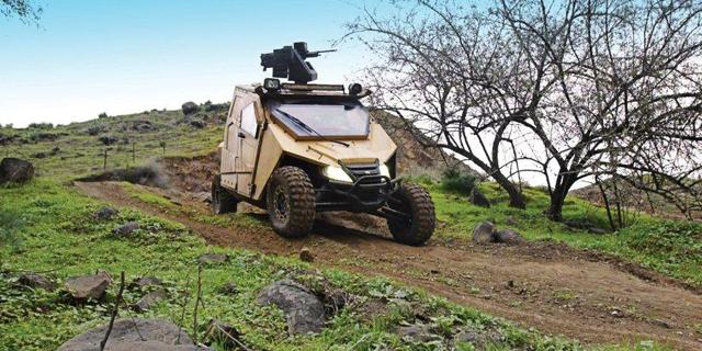 Armored Car Maker Plasan Unveils Ultralight Armored Vehicle