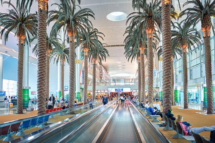 נמל התעופה בדובאי, צילום: שאטרסטוק