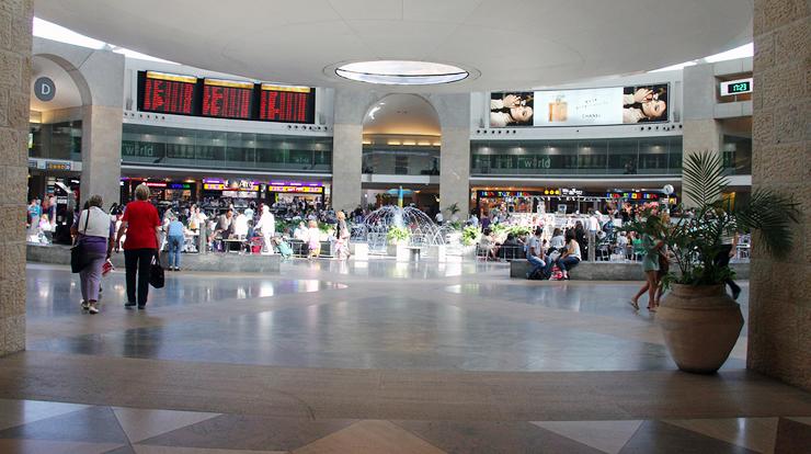 נמל התעופה בן גוריון, צילום: שאטרסטוק