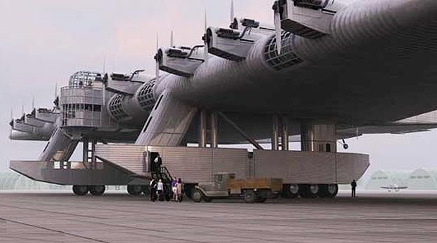 הקברניט קונסטנטין קלינין מטוס ענק