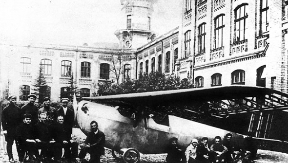 מטוס ה-K1 מוצג לראווה ברוסיה