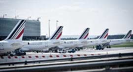 חברת תעופה אייר פראנס נמל תעופה שארל דה גול פריז, צילום: איי אף יפ