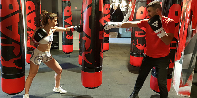 עולה לזירה: אימון איגרוף בעזרת חיישנים