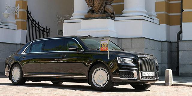 לפוטין יש אוטו חדש: לימוזינה תוצרת רוסיה בשווי 197 מיליון דולר