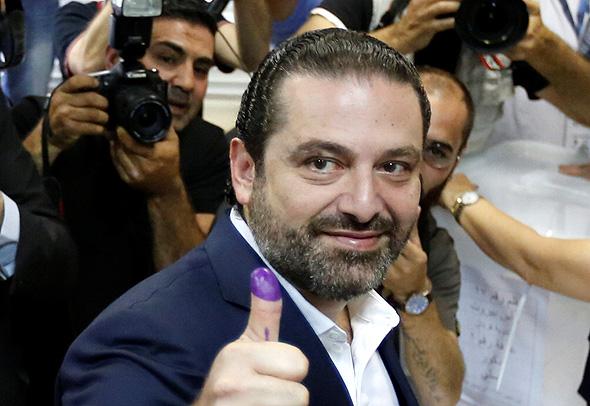 סעד אל חרירי ראש ממשלת לבנון היוצא. ירכיב גם את הממשלה הבאה?