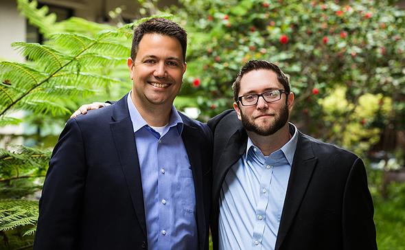 SafeBreach co-founders Guy Bejerano (left) and Itzik Kotler. Photo: SafeBreach