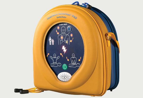 מכשיר החייאה דפיברילטור, צילום: הרטסיין
