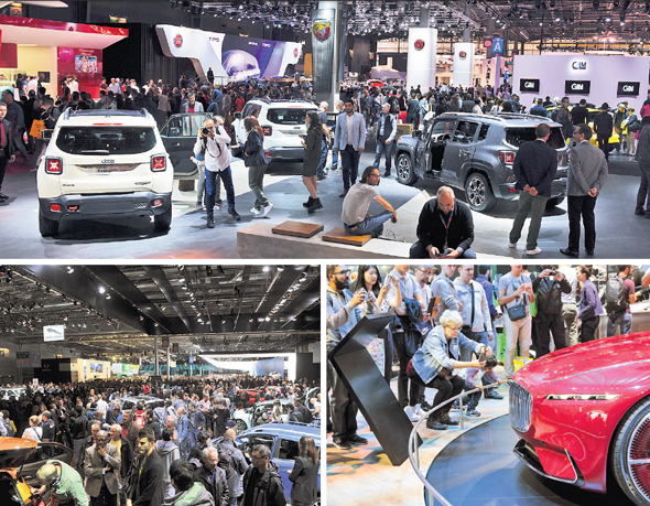 Paris Motor Show 2017. התערוכה נוסדה לפני 120 שנה