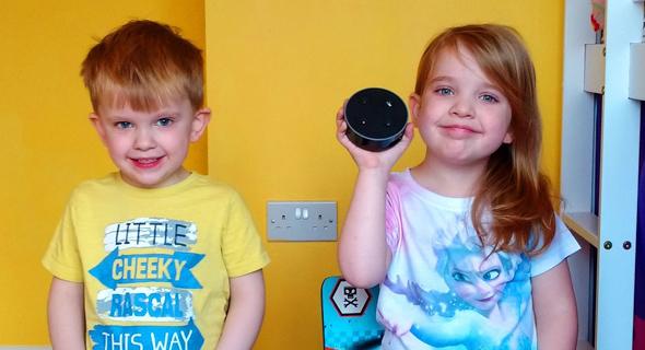 אמזון אקו דוט ילדים רמקולים חכמים 1, צילום: ReviewKidz