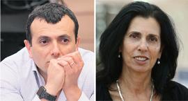 """דורית סלינגר ושי באב""""ד, צילום: אלכס קולומויסקי, אוראל כהן"""