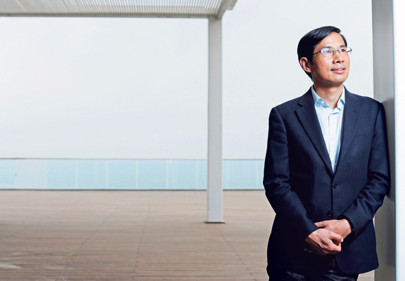 Fred Hu, founder and chairman of Primavera. Photo: Amit Sha'al
